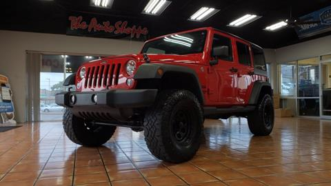 2014 Jeep Wrangler Unlimited For Sale In Springfield, MO