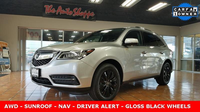 Acura MDX SHAWD WTech In Springfield MO The Auto Shoppe - Acura mdx for sale by owner