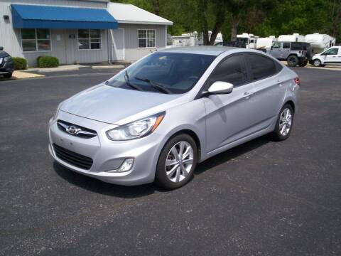 2012 Hyundai Accent GLS for sale at Jones Auto Sales in Poplar Bluff MO