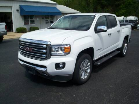 2018 GMC Canyon SLT for sale at Jones Auto Sales in Poplar Bluff MO