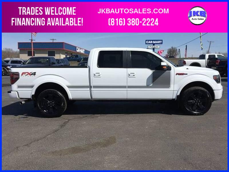 2013 ford f 150 4x4 lariat 4dr supercrew styleside 6 5 ft sb in harrisonville mo jkb auto sales. Black Bedroom Furniture Sets. Home Design Ideas