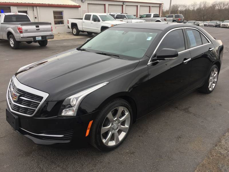 2015 cadillac ats awd 3 6l luxury 4dr sedan in harrisonville mo jkb auto sales. Black Bedroom Furniture Sets. Home Design Ideas