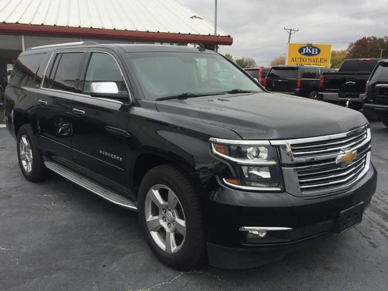 2015 chevrolet suburban 4x4 ltz 1500 4dr suv in harrisonville mo jkb auto sales. Black Bedroom Furniture Sets. Home Design Ideas