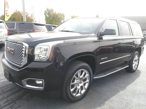 used 2015 gmc yukon for sale in missouri. Black Bedroom Furniture Sets. Home Design Ideas