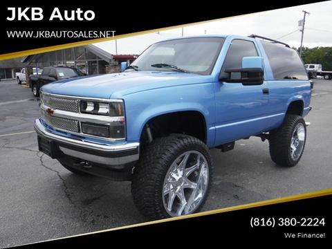 1996 Chevrolet Tahoe for sale in Harrisonville, MO