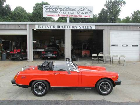 1979 MG Midget for sale in Lenoir, NC