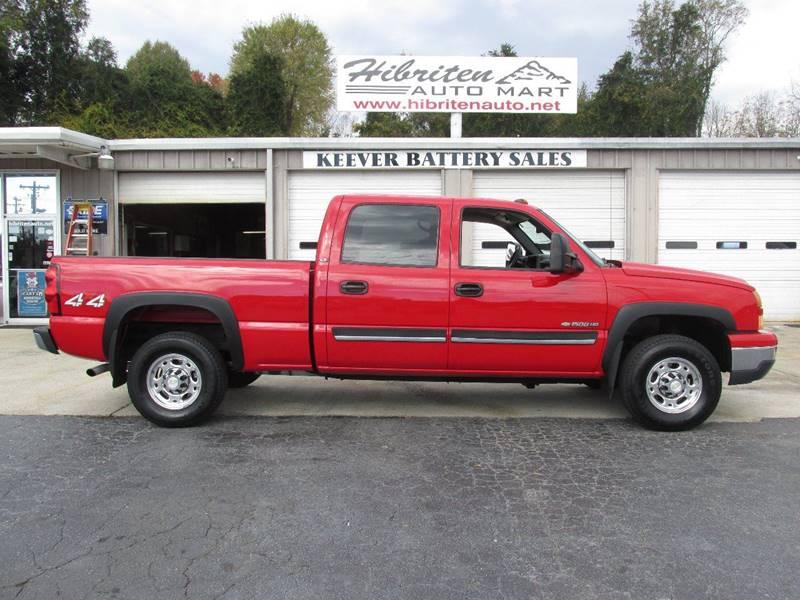 Chevrolet Used Cars Pickup Trucks For Sale Lenoir Hibriten Auto Mart