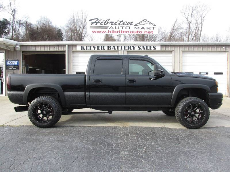 2004 chevrolet silverado 2500hd 4dr crew cab lt 4wd sb in lenoir nc hibriten auto mart. Black Bedroom Furniture Sets. Home Design Ideas