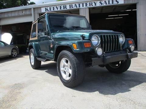 2000 Jeep Wrangler for sale in Lenoir, NC