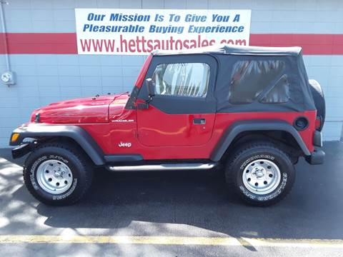 2000 Jeep Wrangler for sale in Oswego, IL