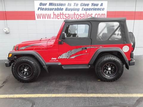 2003 Jeep Wrangler for sale in Oswego, IL