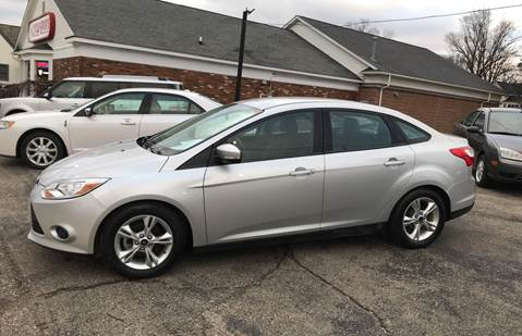 2014 Ford Focus for sale at South Lyon Motors INC in South Lyon MI