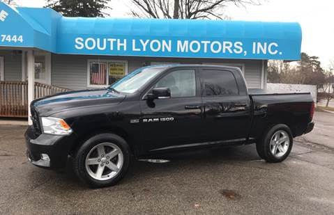 2012 RAM Ram Pickup 1500 for sale at South Lyon Motors INC in South Lyon MI