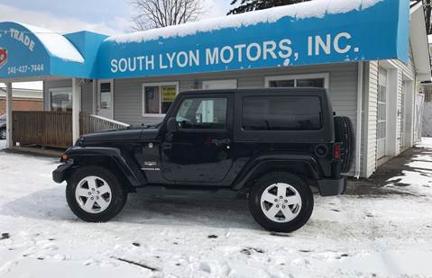 2011 Jeep Wrangler for sale at South Lyon Motors INC in South Lyon MI