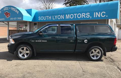 2011 RAM Ram Pickup 1500 for sale at South Lyon Motors INC in South Lyon MI