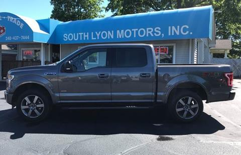 2017 Ford F-150 for sale in South Lyon, MI