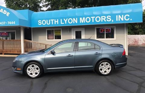 2011 Ford Fusion for sale in South Lyon, MI