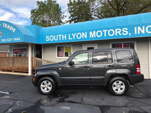 2011 Jeep Liberty for sale in South Lyon, MI