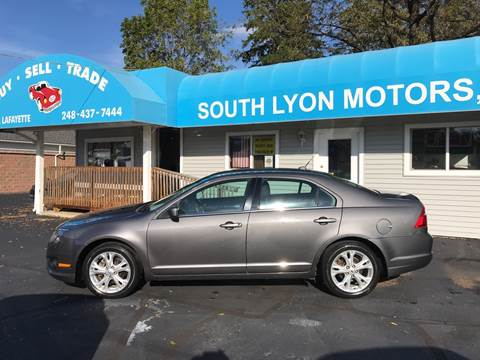 2012 Ford Fusion for sale in South Lyon, MI