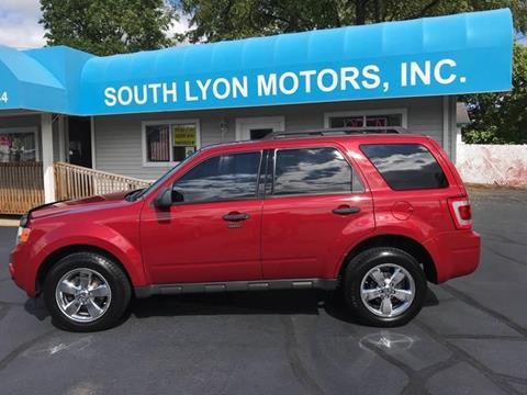 2009 Ford Escape for sale in South Lyon, MI