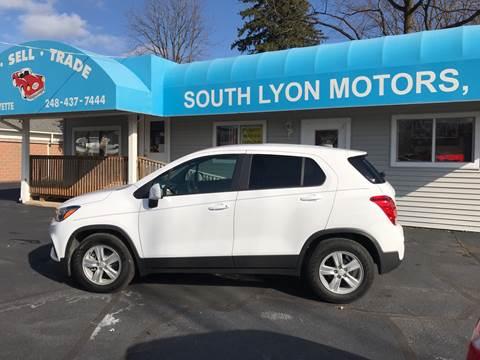 2019 Chevrolet Trax for sale in South Lyon, MI