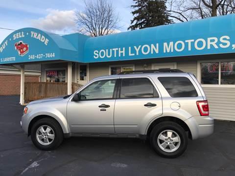 2010 Ford Escape for sale in South Lyon, MI