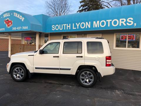 2010 Jeep Liberty Limited for sale at South Lyon Motors INC in South Lyon MI