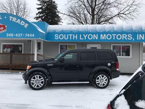 2011 Dodge Nitro SXT for sale at South Lyon Motors INC in South Lyon MI