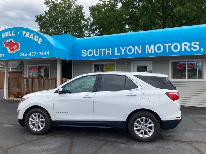 2018 Chevrolet Equinox for sale at South Lyon Motors INC in South Lyon MI