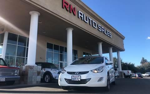 2012 Hyundai Elantra for sale at RN Auto Sales Inc in Sacramento CA