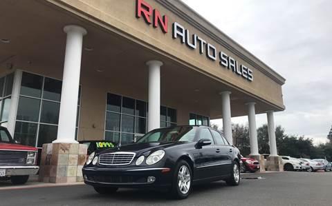 2004 Mercedes-Benz E-Class for sale at RN Auto Sales Inc in Sacramento CA