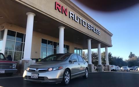 2007 Honda Civic for sale at RN Auto Sales Inc in Sacramento CA