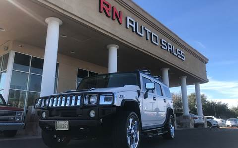 2003 HUMMER H2 for sale at RN Auto Sales Inc in Sacramento CA