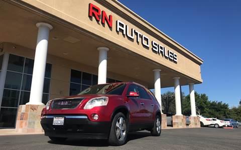 2012 GMC Acadia for sale at RN Auto Sales Inc in Sacramento CA