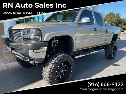 2002 GMC Sierra 2500HD for sale in Sacramento, CA