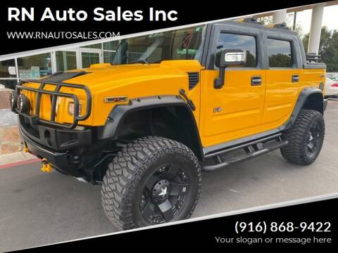2006 HUMMER H2 SUT for sale at RN Auto Sales Inc in Sacramento CA