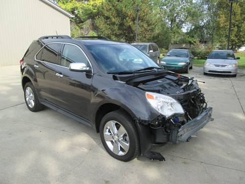 2015 Chevrolet Equinox for sale in Bruce Township, MI