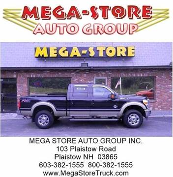 2012 Ford F-350 Super Duty for sale at Mega Store Auto Group in Plaistow NH