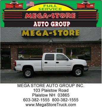 2006 Chevrolet Silverado 2500HD for sale at Mega Store Auto Group in Plaistow NH