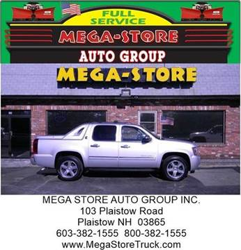 2013 Chevrolet Black Diamond Avalanche for sale at Mega Store Auto Group in Plaistow NH