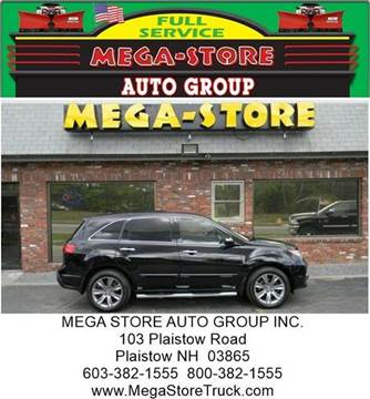 2011 Acura MDX for sale at Mega Store Auto Group in Plaistow NH
