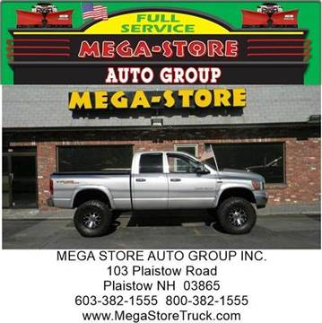 2006 Dodge Ram Pickup 1500 for sale at Mega Store Auto Group in Plaistow NH