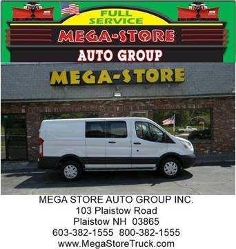 2015 Ford Transit Cargo for sale at Mega Store Auto Group in Plaistow NH