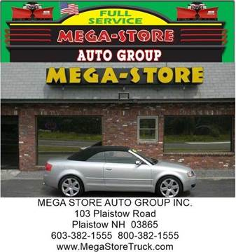 2005 Audi S4 for sale at Mega Store Auto Group in Plaistow NH