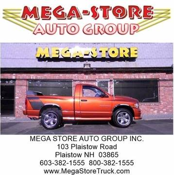 2005 Dodge Ram Pickup 1500 for sale at Mega Store Auto Group in Plaistow NH