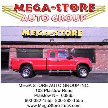 2006 Ford F-350 Super Duty for sale at Mega Store Auto Group in Plaistow NH