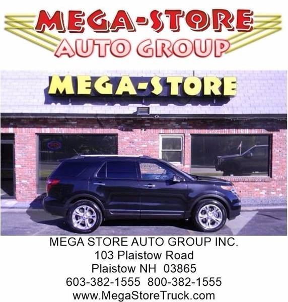 2014 Ford Explorer for sale at Mega Store Auto Group in Plaistow NH