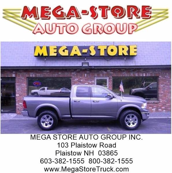 2012 RAM Ram Pickup 1500 for sale at Mega Store Auto Group in Plaistow NH