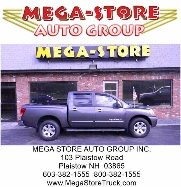 2005 Nissan Titan for sale at Mega Store Auto Group in Plaistow NH