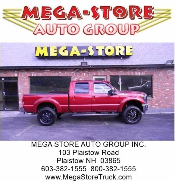 2014 Ford F-250 Super Duty for sale at Mega Store Auto Group in Plaistow NH